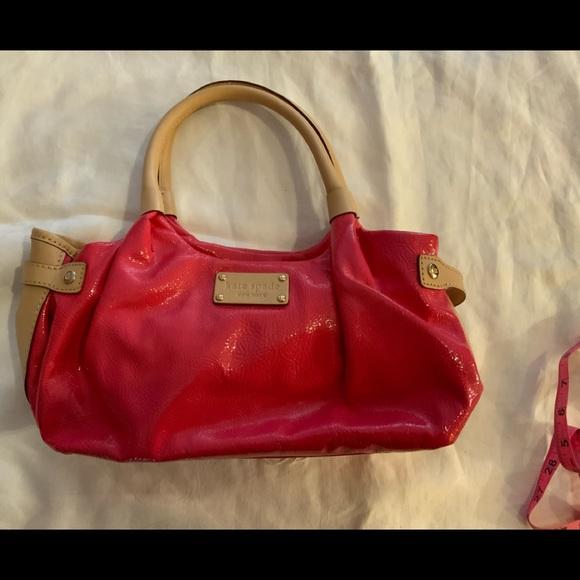 🐞Kate Spade bright pink satchel